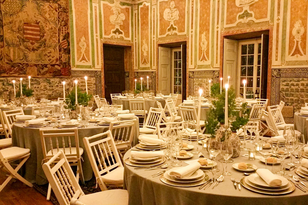 Palácio dos Marqueses da Fronteira - Jantar de aniversário (2018)