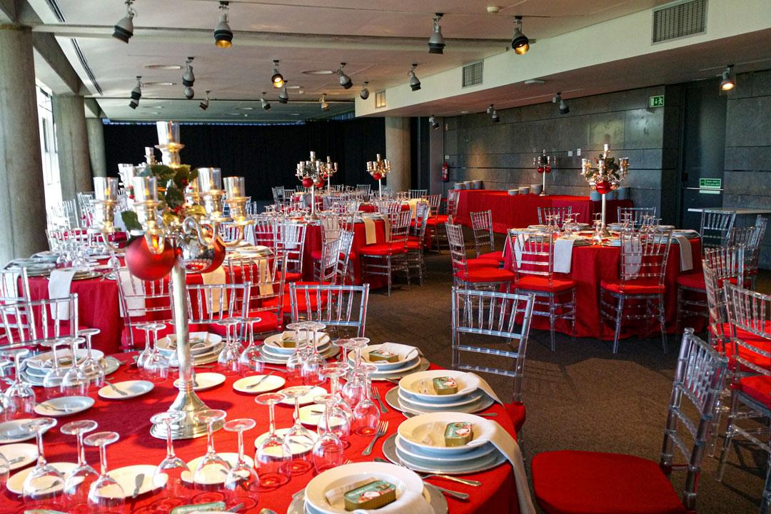 Sala Sophia de Mello Breyner - Jantar de Natal Staff Oceanário (2017)